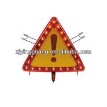 Hi Vis LED warning triangle sign safety triangle