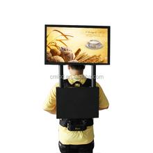 22'' 1920x1080p Human LED display plus gps navigation system led outdoor display