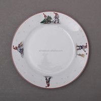 cheap plain ceramic dinner plate