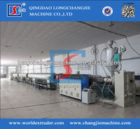 Plastic PE Water and Gas Pipe Supply Production Line With CE Certificate