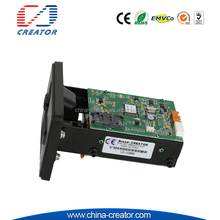 chip card reader writer manual insert ic/magnetic card reader for kiosk emv smart card reader writer