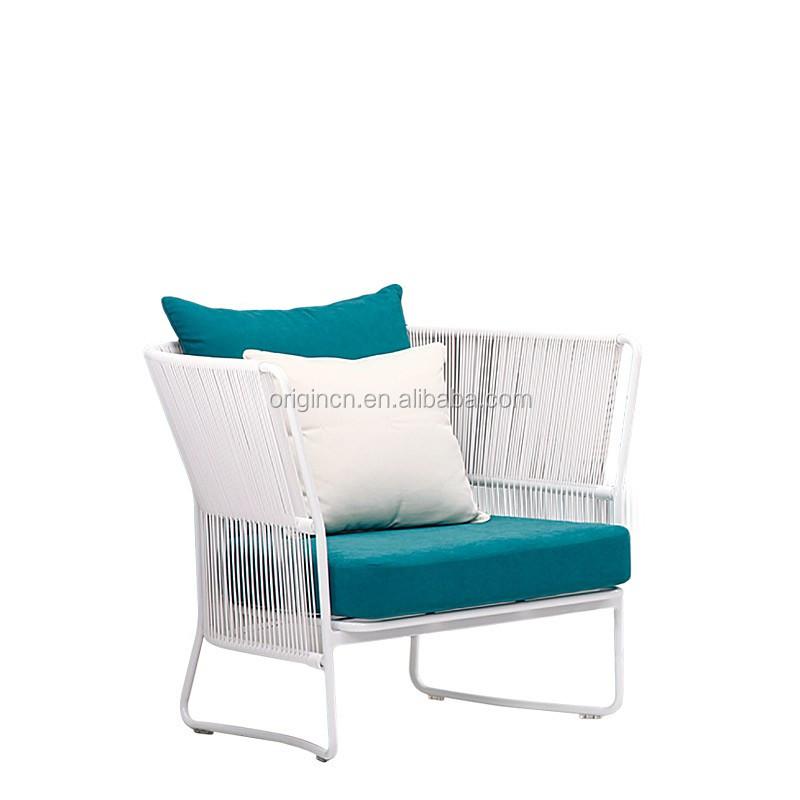 Uberlegen Elegant Artistic Waiting Room Sofa Set Made Of White Synthetic Cane Rattan Garden  Furniture