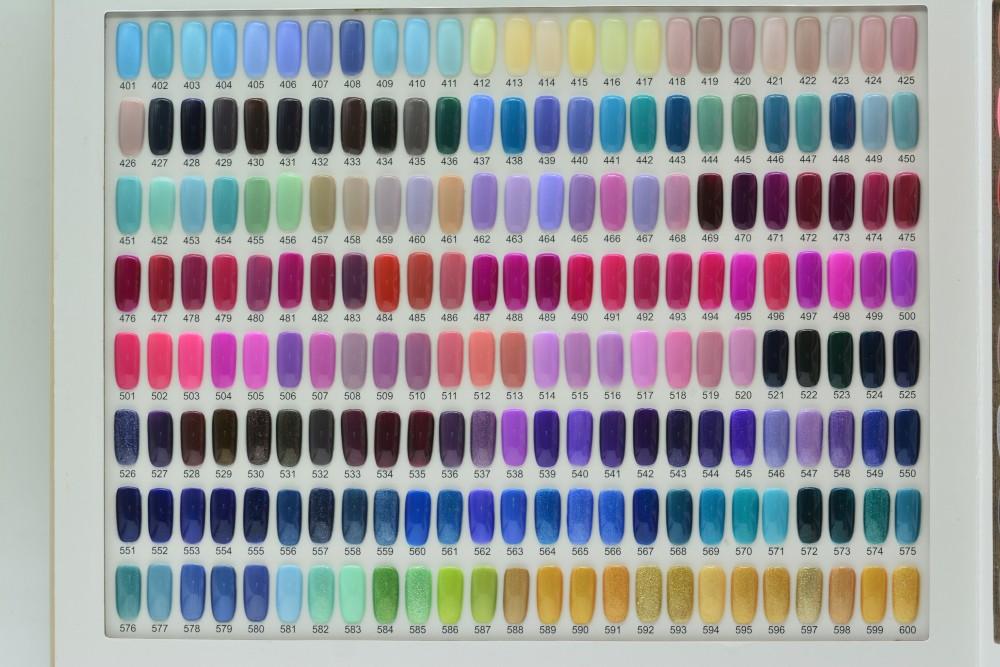 Ransheng três etapas gel unha polonês OEM cor 800 cores disponíveis