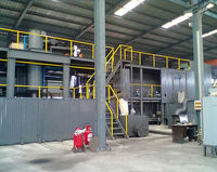 2015 HOT Sale ! Semi-slurry waste tyre recycling plant pp pe film recycling line