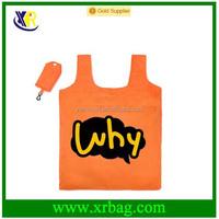 Custom fashion reusable folding shopper bag