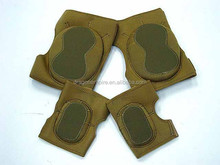 Hot sale tactical Comfortable neoprene knee and elbow pads set
