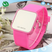 2015 LED male girl fashion Jelly silicone watch