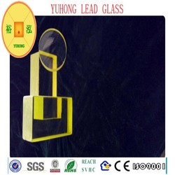x-ray protective lead glass