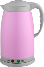 Colorful Plastic Housing Presevation Heat Electric Kettle have 4 colors for choice