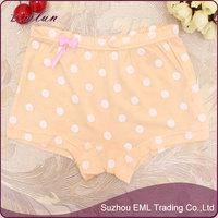 Soft cartoon cute dots modal kids in panties