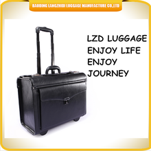 2015 factory direct sale flight luggage cas for airline aluminum trolley boarding luggage case