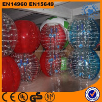 0.8m pvc/loopy bumper inflatable ball