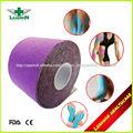 impreso de algodón elástico de la cinta deporte para uso médico