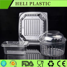 clear plastic cheese/sandwich/cake/pie box/container