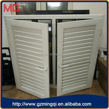 Stylish modern Aluminium casement windows with shutter/fixed louver windows/glass window