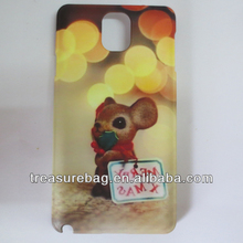 Newest sublimation cell phone case for samsung galaxy Note3