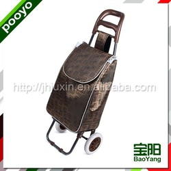 portable folding shopping cart promotional blank cotton tote bags