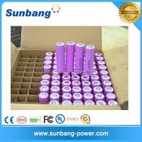 famous brand rechargeable 3.7v 2600mah li ion 18650 battery for battery powered led light box