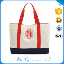 oem heavy duty canvas tote shopping bag