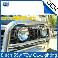 8'' 70w hid off road driving light , 70w hid spot light for 4x4 4WD truck