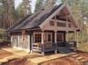 Outdoor waterproof new design wooden house