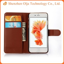Hot sale PU leather cell phone case cover for iphone 6