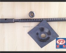 FADA high quality soil nail stabilizer hollow self drilling threading rock anchor bolts