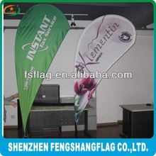 3m advertising feather flag with pole