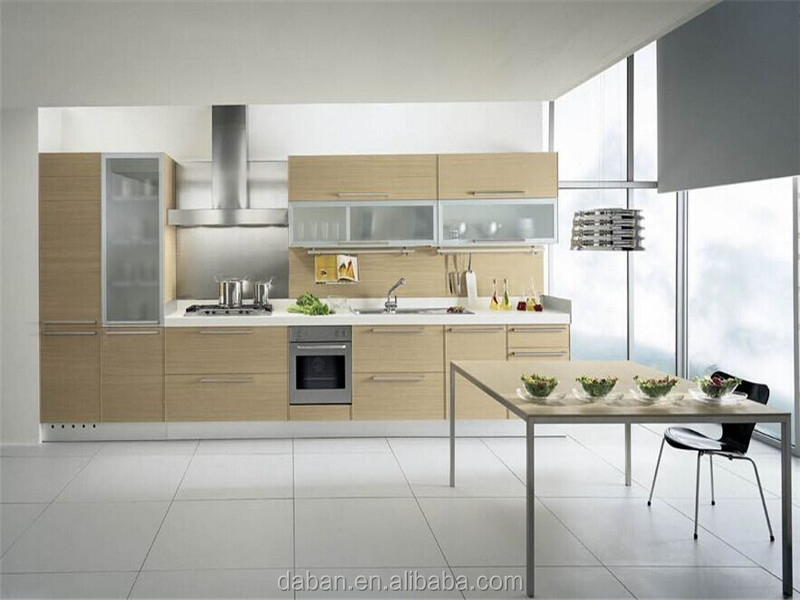 E1 mdf laminate diy kitchen cabinet new arrival factory for Building kitchen cabinets with mdf