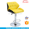 2015 PU Colored Bar Chairs Comfortable,Modern Swivel Bar Stool Chairs Furniture