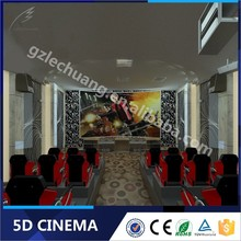 Best Seller Hydraulic/Electric New Business Projects 5D Cinema Portable