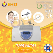 Deep Cleaning!!HO2 O2 light gray oxygen facial treatment machine