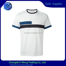 Promotional fashion mens polyester spandex t shirt factory price