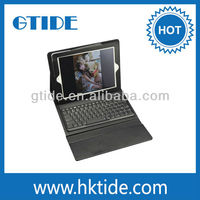 2013 new product hot pink bluetooth keyboard case for ipad