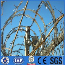 Direct factory price!!! Gi Razor barbed wire on ship for anti piracy