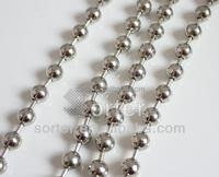 unique fashion decorative metal beads curtain
