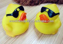 Hot selling floating yellow bulk rubber ducks