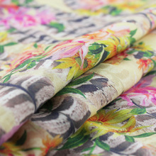 Made in China 2014 new chiffon digital printed fabric fabric stock lot