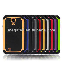 Mobile phone case phone accessories Combos Plastic Silicone case cover for samsung galaxy s4