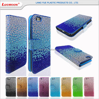 Fashion leather mobile phone cover for iphone, phone cover for 5/5s