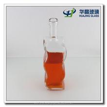 Hot dealed 750ml 25oz unique shaped wine glass bottle