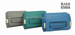 BADI Guangzhou 100% wholesale beautiful genuine leather ladies handbag imitation bag