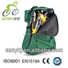16 inch Quick folding e-bike / adult pocket e-bike / mini e-bike - disc brake electric bike