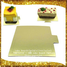 """12"""" round silver cake boards card 3mm thick for wedding ,birthday Korea"""