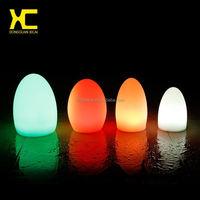 Small Plastic Decorative Night Light Rechageable Bar Table Lamp