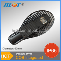 Helist high quality die casting 50W LED Street light housing /casing /fixtures