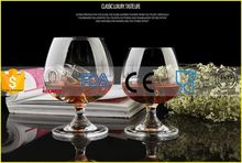 Top level promotional brandy snifter glass/swing whisky glass