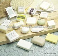 High grade hotel pure vagetable natural bath soap