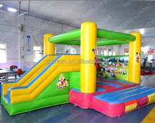 Inflatable Bounce House & Slide / Mickey Mouse Donald Duck printed
