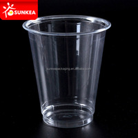 Custom printed disposable peel off lid heat seal the plastic cup